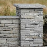 Shown here our Liscannor guillotined stone, wall capping and pier caps.