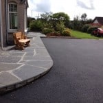 Our Flagstones can also be purchased 'uncut' as seen in this picture.