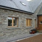 Our building stone is ideal for facing houses and gives a long lasting traditional finish.