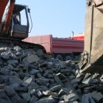 Our Building Stone can also be purchased in what we refer to as 'loose' in bulk by the lorry load