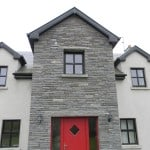 House faced using our Building Stone. Also seen in this picture are our Flagstone Lintels.