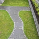 Our Sawn Liscannor Flagstone -- Garden walkway