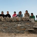Members of the Dry Stone Wall Association visit to our Quarry, see our news section for all info on visit