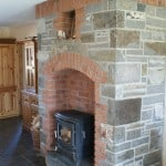 Firehearth - Using your dimensions we can cut to spec and design the Fireplace to suit your home.
