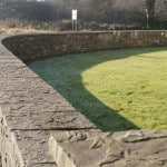Our Natural Flagstone Wall Capping and Piers provide an exceptional finish to walls of all types.