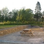 Shown here our Liscannor Sawn Patio Paving, Wall Capping and Building Stone