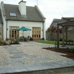 Shown here our sawn patio slabs
