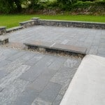 Shown here our Sawn Liscannor Flagstone, Wall Capping and Pier Caps