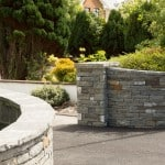 Shown here our Building stone, Pier Caps and  Wall Capping