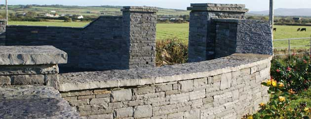 Liscannor Flagstone Piers Pier Caps Wall Caps Capping